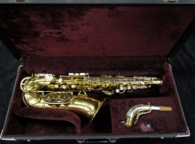 Vintage Pearl Side Key King Super 20 Alto Sax, Serial #290417