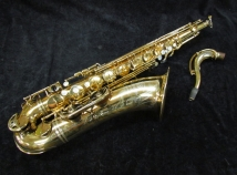 Vintage Selmer Paris Gold Plated Super Balanced Action Tenor Sax, Serial #50954