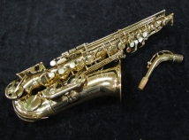 Nice Grassi 2000 Alto Saxophone In Gold Lacquer Made in Italy, Serial #53816