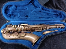NICE! P. Mauriat 66R Un-Lacquered Influence Model Tenor Sax, Serial #0315714