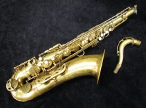 Vintage Selmer Paris Mark VI Tenor Sax Un-Lacquerd, Serial #57564