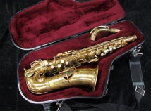 Vintage C.G. Conn New Wonder Alto Saxophone, Serial 122855
