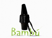 New Bambu Hand Woven Ligature for Baritone Sax