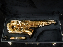 Pristine! Buffet-Crampon Paris 100 Series Alto Sax in Gold Laccquer, Serial #BCA90224