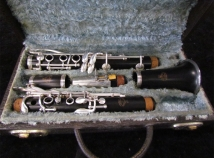 Vintage Bb Pedler Clarinet with Original Case, Serial Number P11172