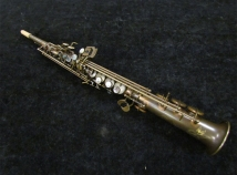 NEW! P. Mauriat System 76 One Piece Soprano Saxophone Un-Lacquered
